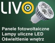 LIVO - oświetlenie LED, panele fotowoltaiczne