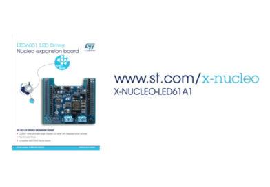 X-NUCLEO-LED61A1 – sterownik LED dla Nucleo