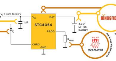 STC4054 – Ładowarka baterii Litowo-jonowych