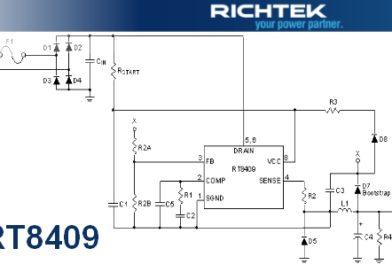 RT8409 – przetwornica typu Buck firmy Ritchtek