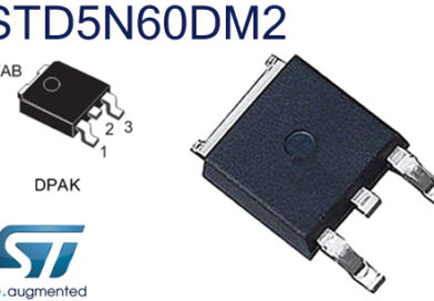 STD5N60DM2 – PowerMOS 600V, 1.38 Ohm typ., 3.5 A, DPAK