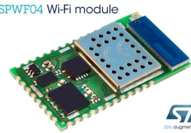 SPWF04 – Moduł Wi-Fi kompatybilny z chmurą dla rozwiązań IoT i M2M