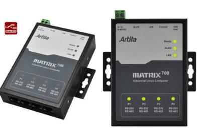 Matrix-700 – przemysłowy komputer oparty o Cortex-A5 i Linux