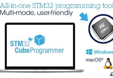 STM32CubeProgrammer – nowy program STMicroelectronics