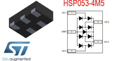 HSO053-4M5 – ochrona ESD dla ultra szybkich linii danych