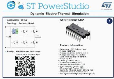 ST PowerStudio – oprogramowanie do symulacji termicznych