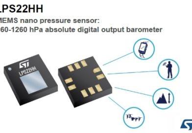 LPS22HH – czujnik ciśnienia (cyfrowy barometr)