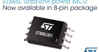 STM8L001J3 – 8-nóżkowy STM8 (16MHz, ultra low-power, 8kB FLASH, 2kB EEPROM)