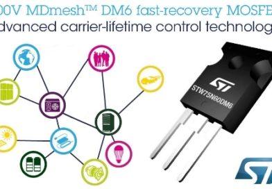 Tranzystory PowerMOS z serii MDmesh DM6