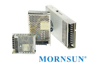 New series of enclosed switching power supplies by Mornsun