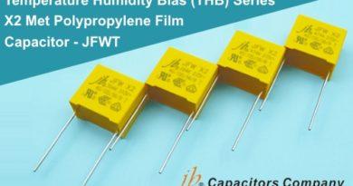 JFWT – X2 class polypropylene capacitors from JB Capacitors