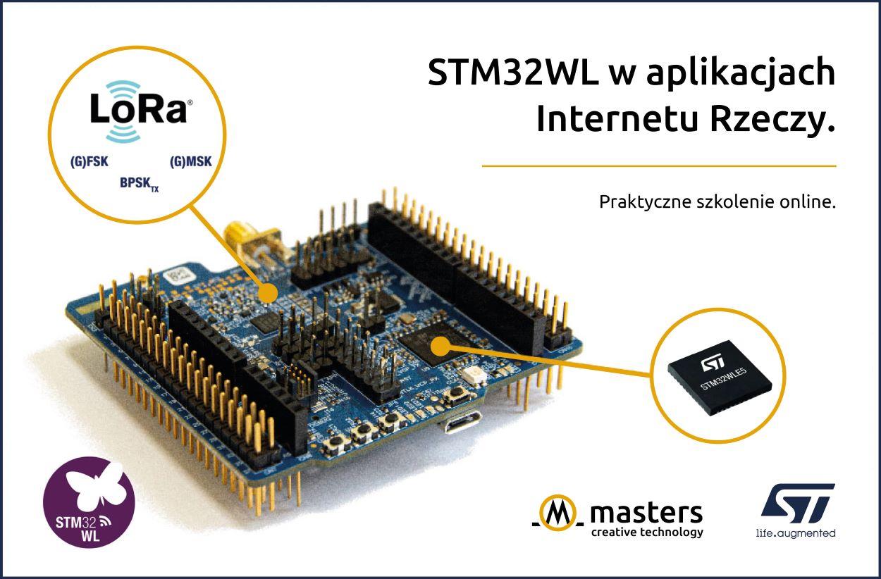 szkolenie dla inżynierów z mikrokontrolerów STM32WL