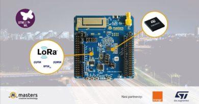LoRaWAN jako uzupełnienie infrastruktury Smart City IoT. Poznaj moduł Masters z układem STM32WL.
