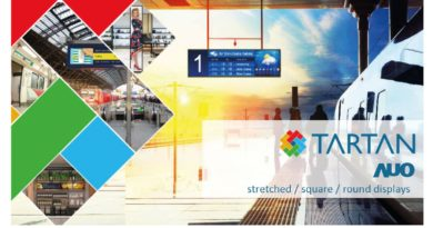 Displays for passenger information systems and Digital Signage from AUO