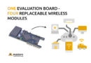 Evaluation board with LTE Cat.1, LPWA and NB-IoT modules – test your application