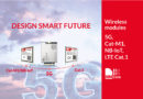Innovative wireless modules with efficient 5G, LPWA and CAT.1 application solutions