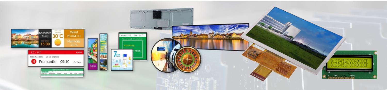 wyświetlacze elektronika