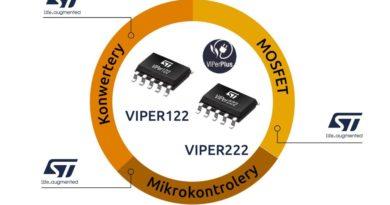 Niezwykle wydajne konwertery wysokiego napięcia – VIPER222 i VIPER122